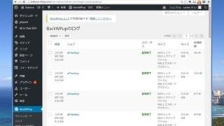 WordPressのバックアップ。プラグインBackWPupで簡単、安全に。バックアップ先は2箇所指定で。