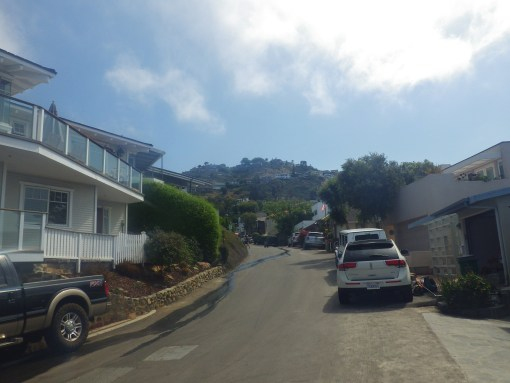 Laguna Beach neighborhood near pirate tower