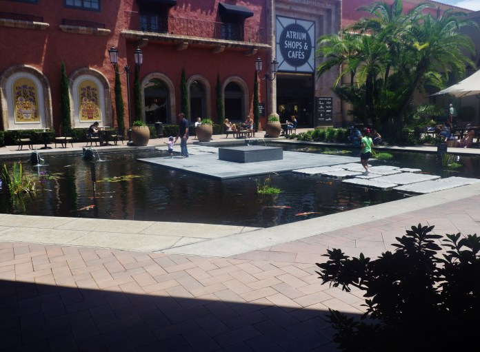 Fashion Island Koi Pond