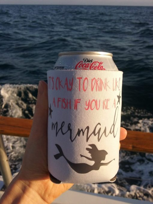 Dolphin Watching Koozie