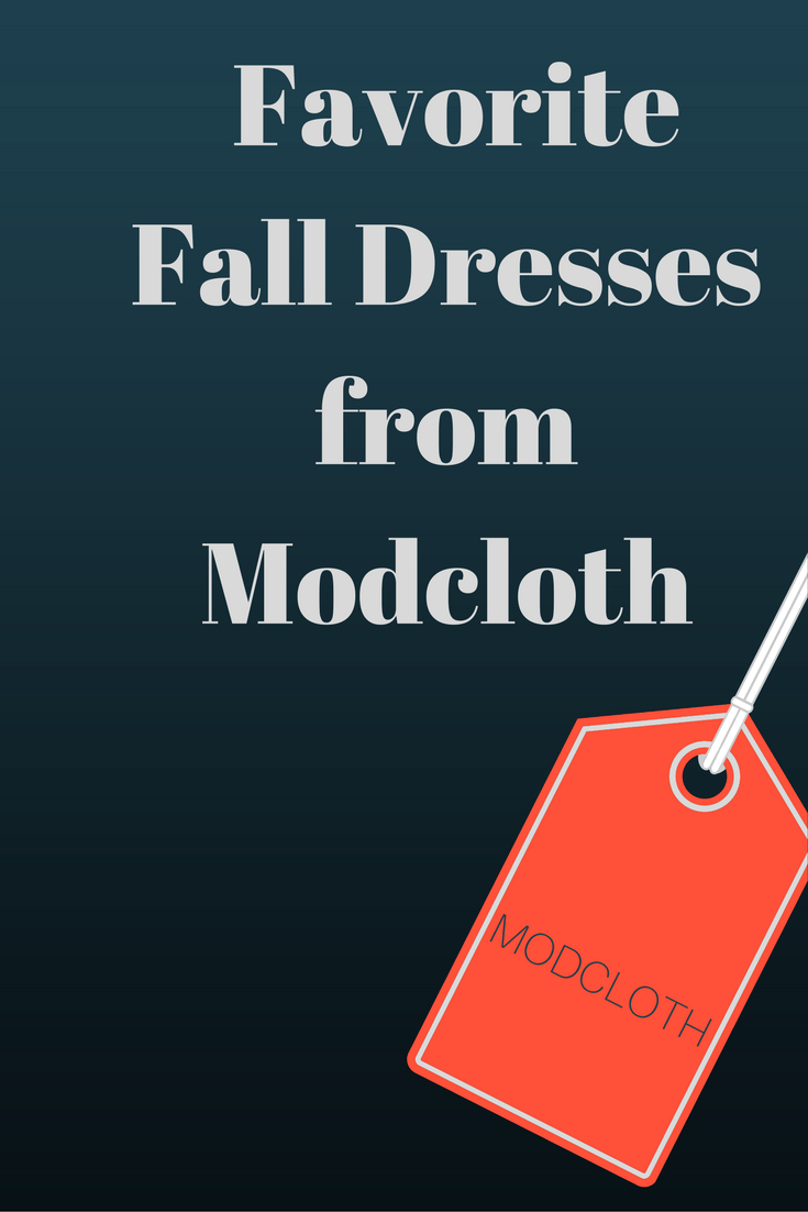 modcloth fall dresses