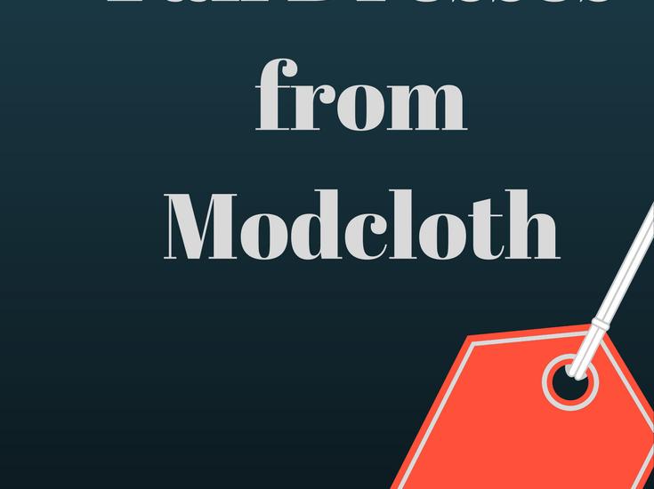 modcloth fall dresses