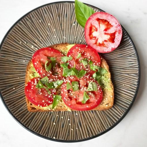 healthy recipes tomato toast