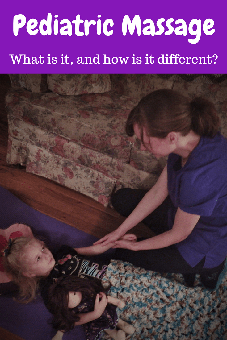 Pediatric Massage Therapy – What is it, and how is it different?