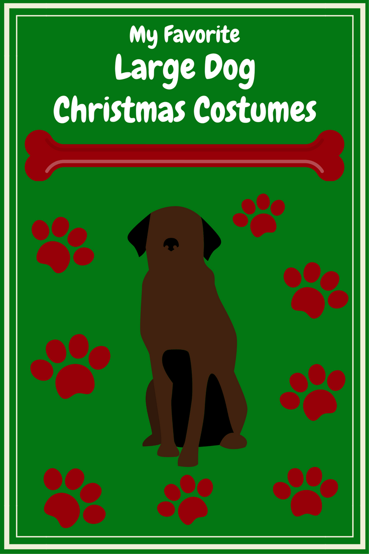 large dog christmas costumes