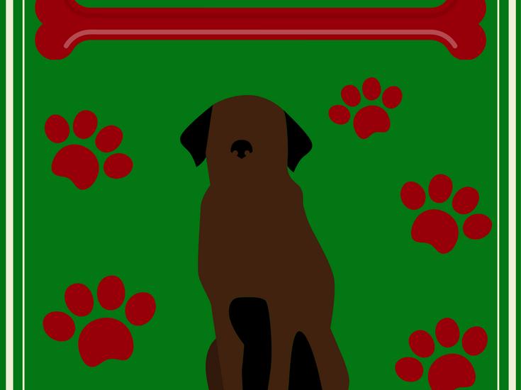 large dog christmas costumes