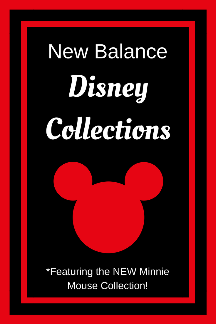 New Balance Disney Collections (including the NEW Minnie Mouse Rock Your Dots Collection!)