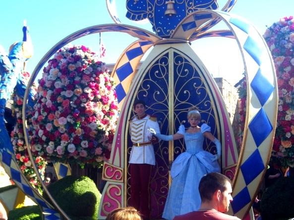 disney parades cinderella