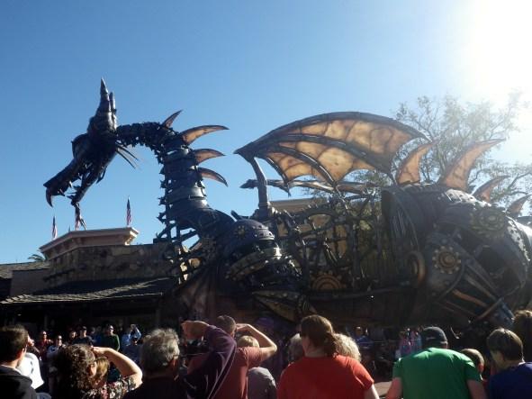 dragon disney parades
