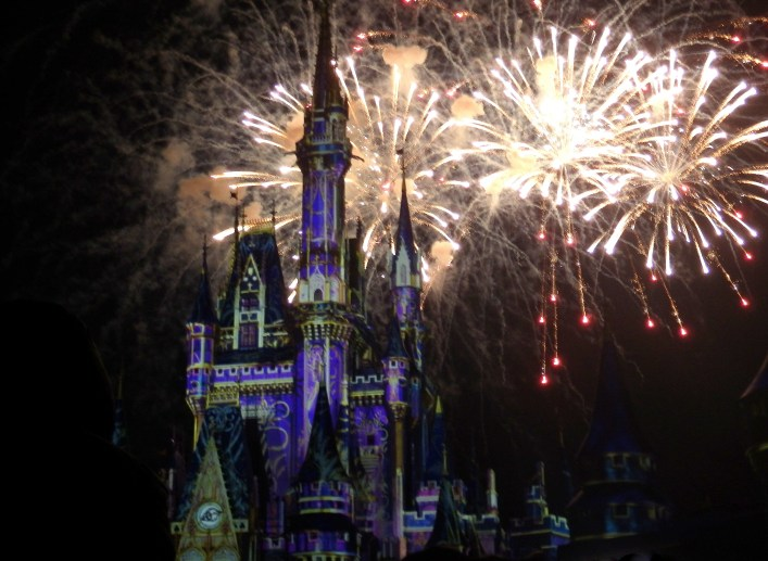 happily ever after fireworks perfect