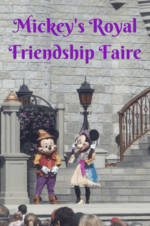 disney live stage shows Mickey's Royal Friendship Faire