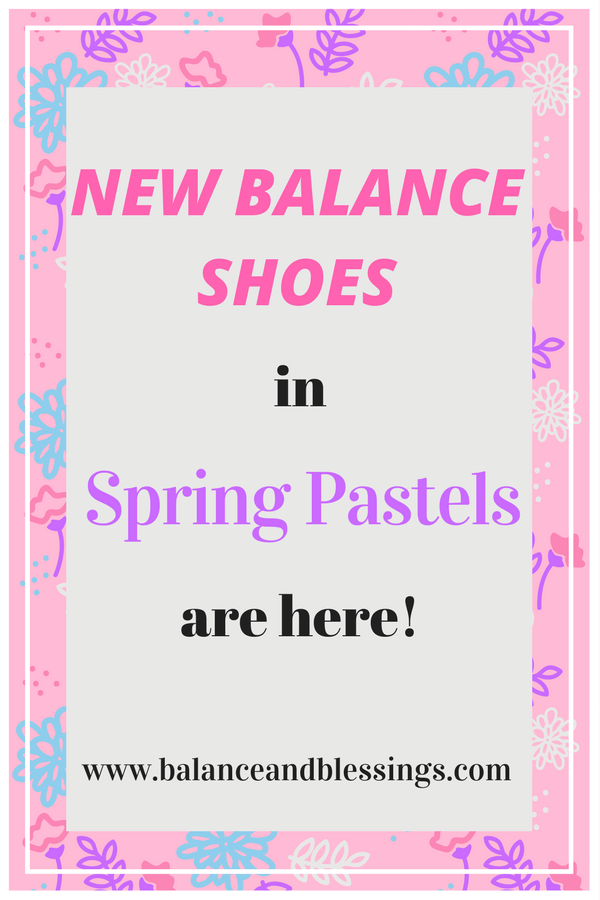 New Balance Shoes in Spring Pastels are here!