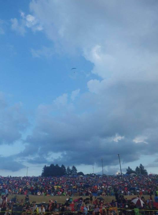 Christian Music Festivals Uprise sky