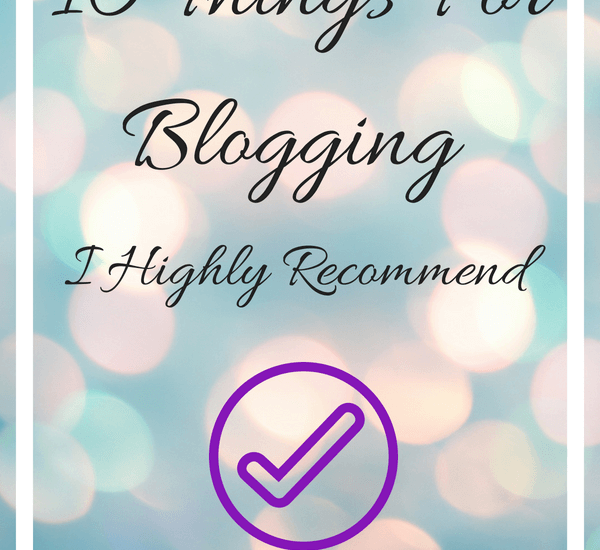 10 Things For Blogging