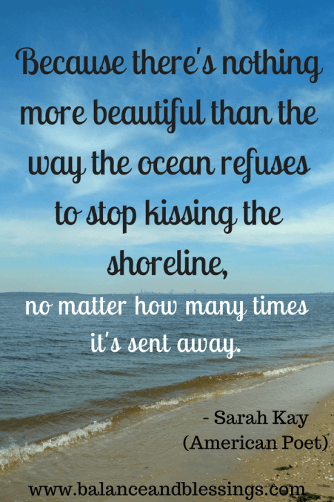 ocean quote seascape photography