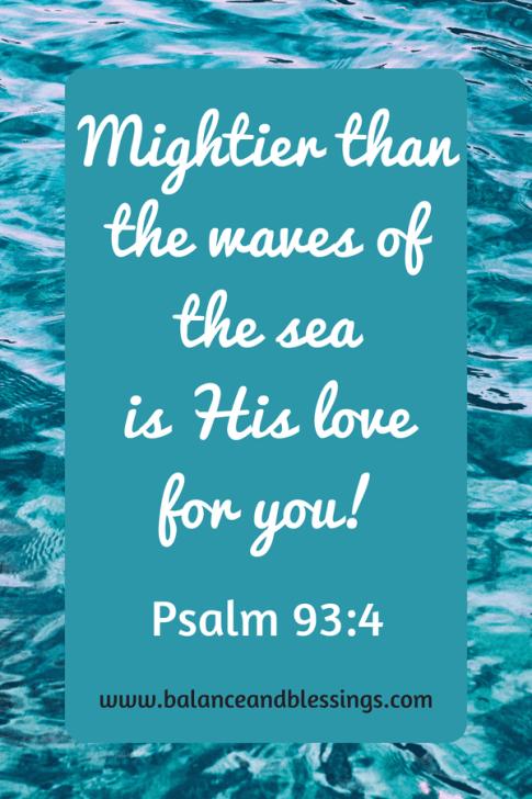 seascape photography Psalm 93:4