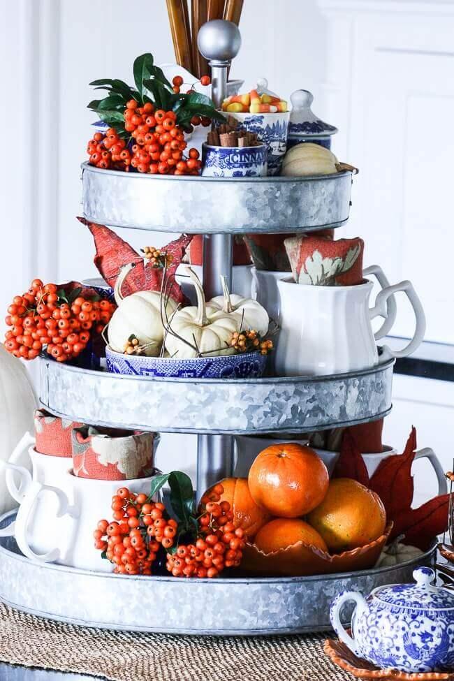 Fall decor ideas kitchen