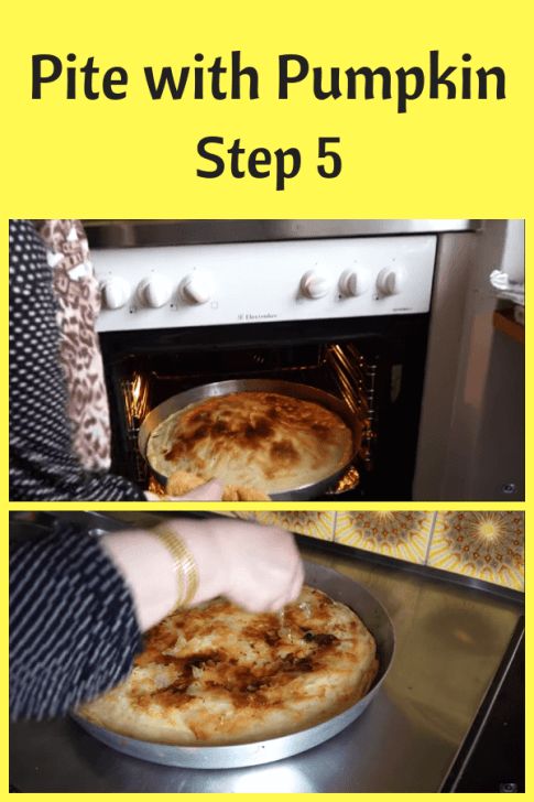 fall dinner recipe Pite with Pumpkin step 5