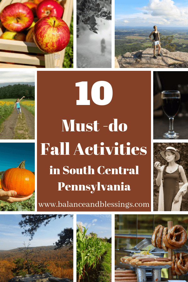 must-do fall activities in south central PA
