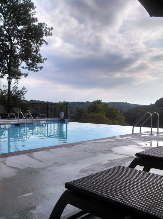 Bavarian Inn Infinity pool - perfect resorts for fall