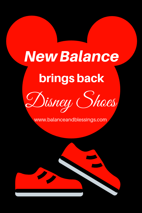 New Balance brings back Disney Shoes!