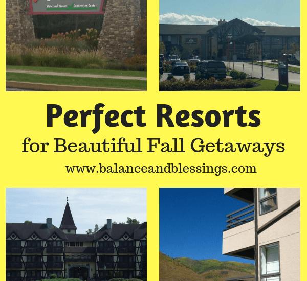 Perfect Resorts for Beautiful Fall Getaways