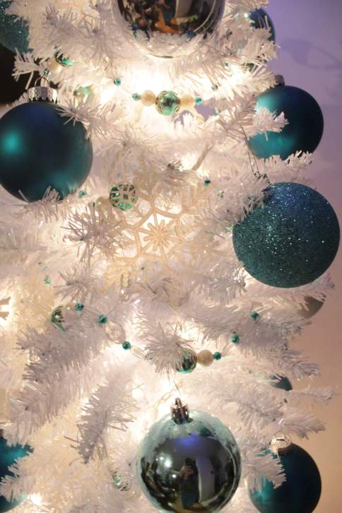 sequin christmas tree craft home tour
