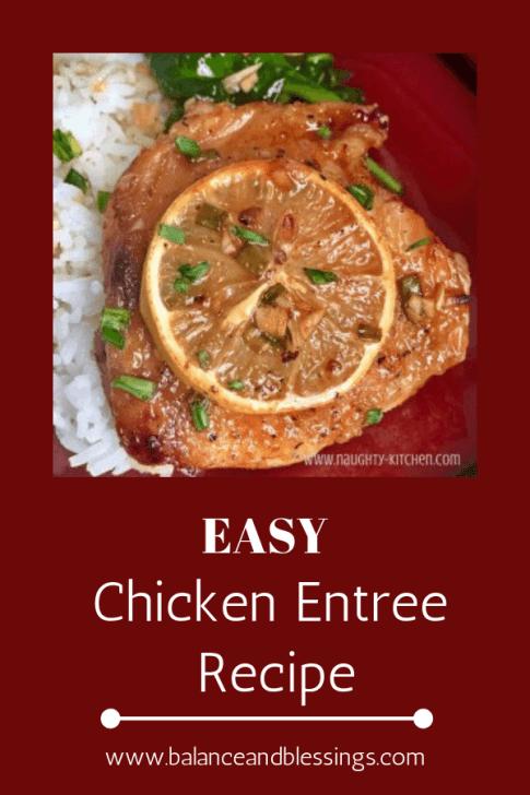 EASY chicken entree recipe maple chicken
