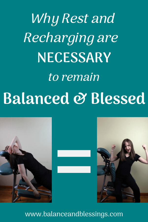 Why Rest and Recharging are necessary