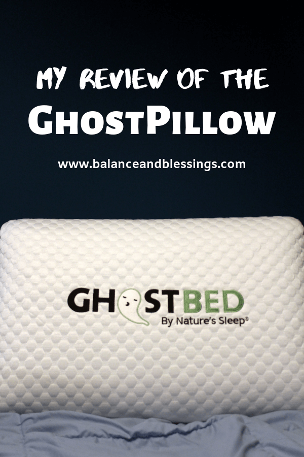My Review of the Ghostpillow