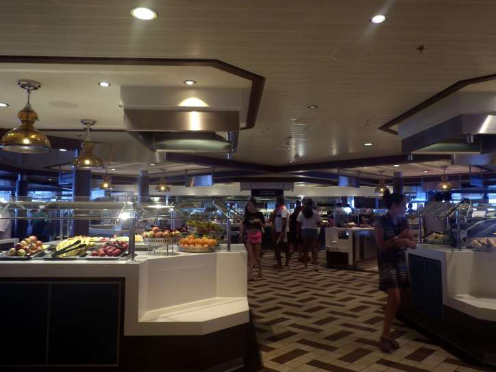 Anthem of the Seas Windjammer buffet