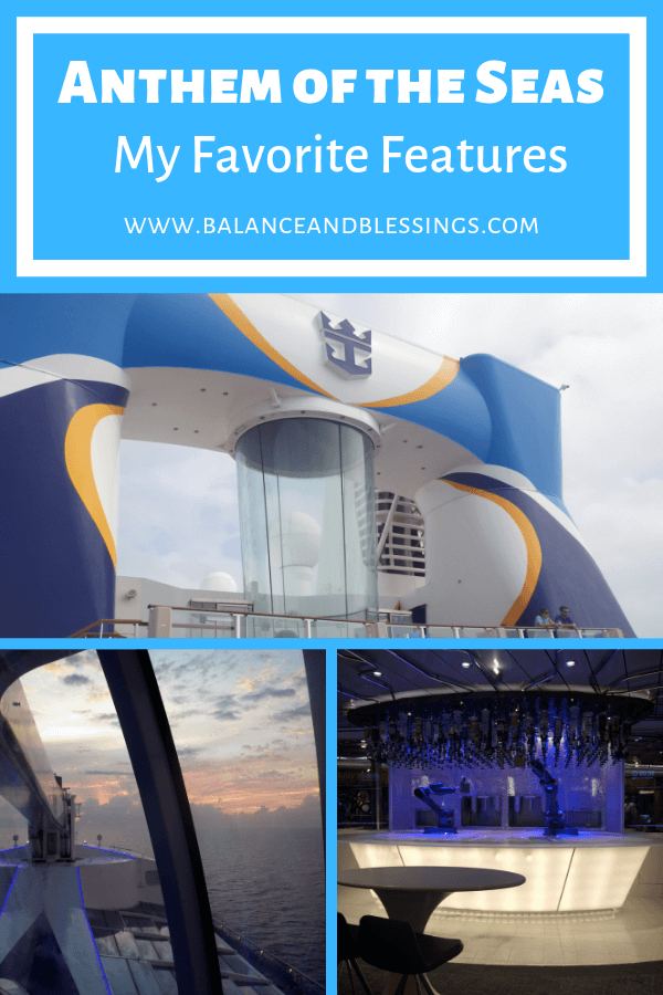 Anthem of the seas my favorite features