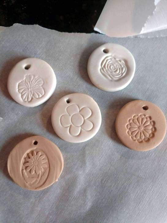 clay diffuser pendants