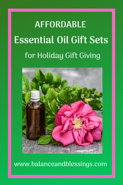 affordable essential oil gift sets for anyone