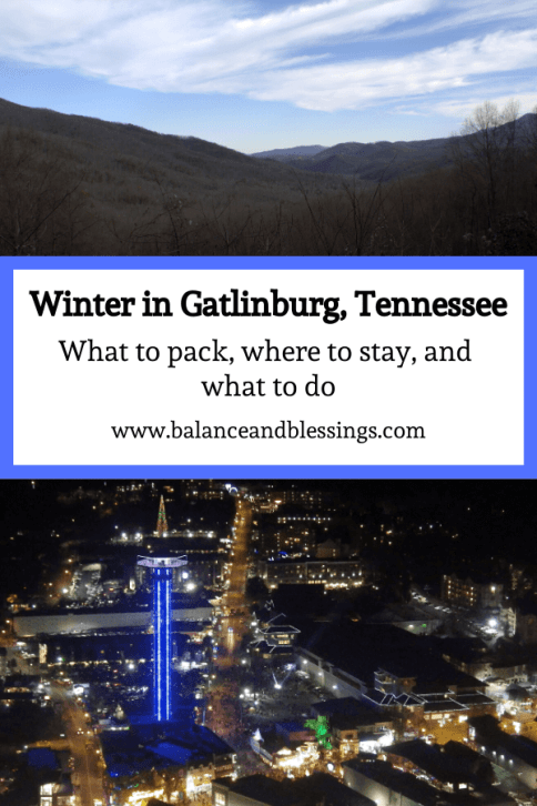 Winter in Gatlinburg, Tennessee