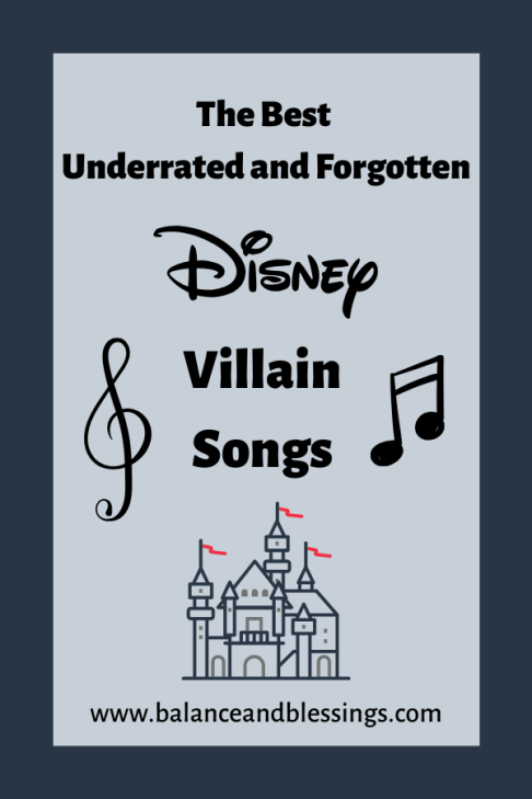 the best disney villain songs