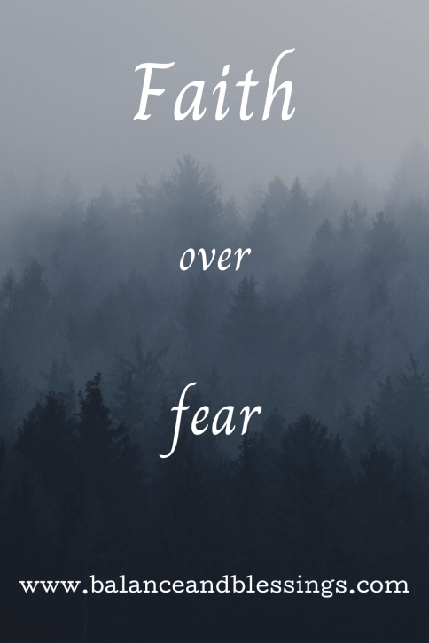 faith over fear quote