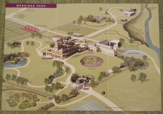 Map-Werribee-Park