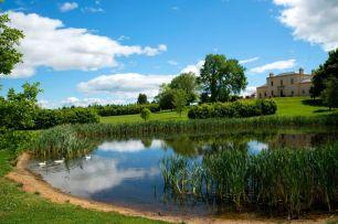 Rupertswood Mansion ornamental lake