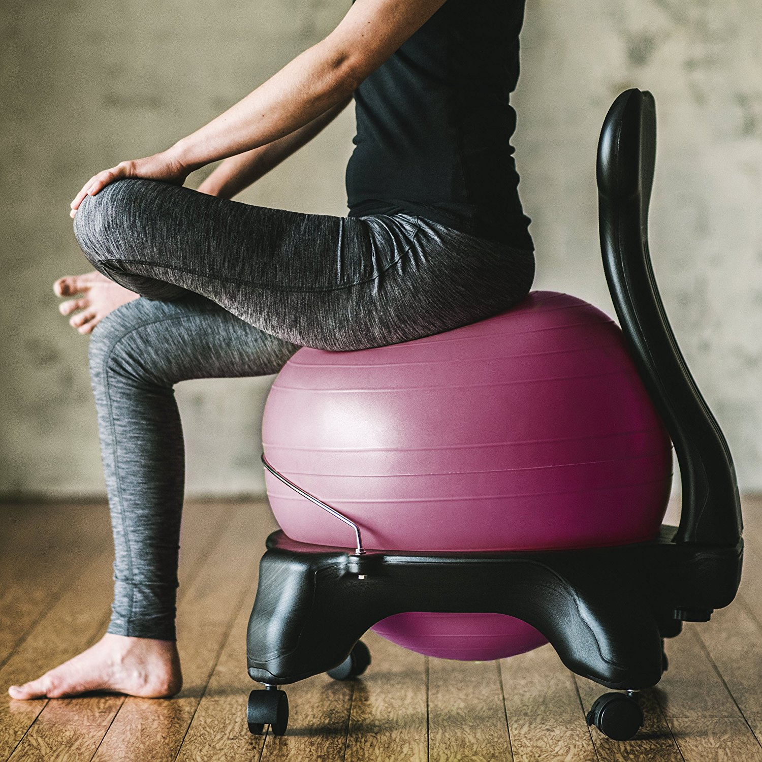 Ball Chair Reviews Gaiam Balance Ball Chair Review Best 1st Time Buyer