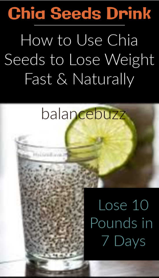 Chia Seeds Weight Loss Before And After : seeds, weight, before, after, Weight, Seeds, Recipes, Balancebuzz.com
