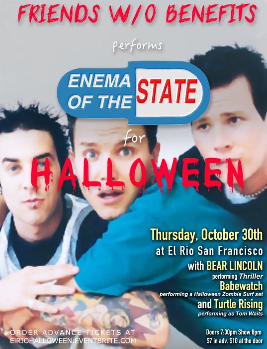 FW/OB Halloween Flier