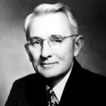 A headshot of Dale Carnegie is shown.