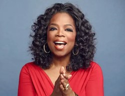 Oprah Winfrey is carrying the torch for the personal development field.