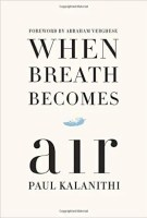 The cover for When Breath Becomes Air is shown. It ranks second on Balanced Achievement's list of the top 10 self-help books of 2016.