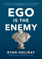 The cover for Ego is the Enemy is shown. It ranks forth on Balanced Achievement's list of the top 10 self-help books of 2016.