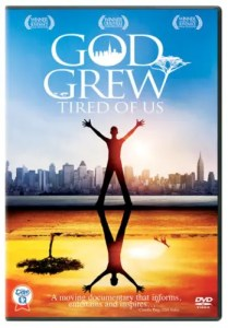 A DVD cover is shown for the movie God Grew Tired of Us, which is one of the films we chose as one of our five inspirational documentaries.
