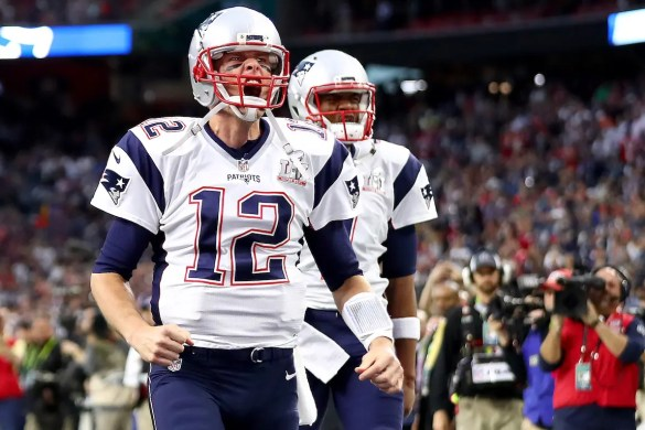 Tom Brady #12 of the New England Patriots warms up prior to Super Bowl 51 against the Atlanta Falcons at NRG Stadium on February 5, 2017 in Houston, Texas. This image is the featured image of Balanced Achievement's article The Champion's Mind.