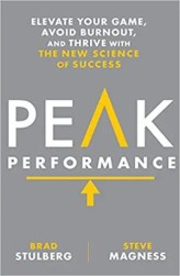 An image shows the cover of Peak Performance which made Balanced Achievement's list of the 10 best personal transformation books of 2017.