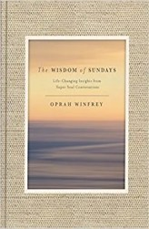 An image shows the cover of The Wisdom Of Sundays which made Balanced Achievement's list of the top 10 spirituality books of 2017.
